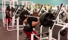 This Meathead Needs to Work on His Gym Etiquette (Video)