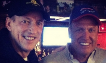 The Bills Rolled Out the Red Carpet for Rex Ryan on Tuesday, and by Red Carpet We Mean Beer and Pizza (Pics)