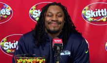 Marshawn Lynch Skittles Press Conference Proves Marshawn Lynch CAN Speak in Multi-Word Sentences (Video)