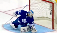 Oliver Eckman-Larsson Scores on Jonathan Bernier from Center Ice (Video)