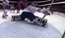 Ovechkin Slap Shot Breaks Goal Cam. It Was Really Only a Matter of Time. (Video)