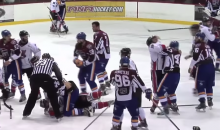 This Quebec Hockey Brawl Is Insane, and It Happened Before the Game Even Started (Video)