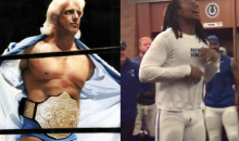 Ric Flair Calls in to Sports Radio Show to Surprise Ric Flair Fan Sergio Brown (Audio)