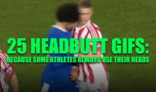 25 Headbutt GIFs: Because Some Athletes Always Use Their Heads