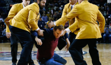 Will Ferrell Kicked Out Of NBA game After Smashing Pelicans Cheerleader in Face with Basketball (Video)