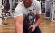 A First Person Account of Bryce Harper Pulling 550 lbs Across a Room (Video)