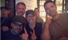 Bill Simmons, Matt Damon, and Ben Affleck Pose for Super Bowl Pic