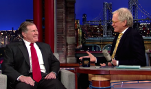 Colts Fan David Letterman Confronts Bill Belichick Over Deflategate (Video)