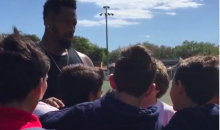 Darnell Dockett, Role Model, Urges Kids to Avoid Drugs and Strip Clubs (Video)