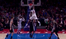 DeAndre Jordan Presented a Dunking Saga vs. the Spurs Last Night (Videos)