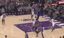 DeMarcus Cousins Gives Up Alley-Oop By Not Playing Defense (Video)