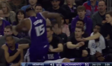 DeMarcus Cousins Had a Bad Night: Kicked a Chair and Elbowed By Z-Bo (Videos)