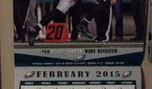 Epic Fail: Eagles Calendar Has Riley Cooper For 'Black History Month' (Pic)