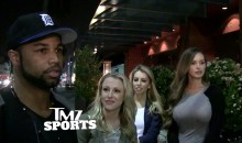 Golden Tate Comments on Rumored Affair With Russell Wilson's Wife (Video)