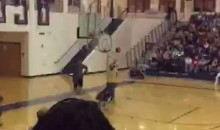 High School Basketball Coach Commits Hilarious Pep Rally Fail (Video)