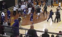 Indiana High School Basketball Brawl Involves Players and Fans (Video)