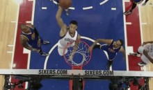 Sixers' K.J. McDaniels Throws Down Wicked Self Alley-Oop (Video)