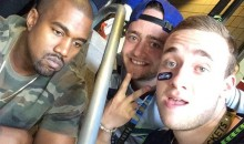 Kanye West's Selfie With Seahawks Fans Even Better Than You Might Expect (Pic)