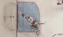 Karri Ramo Robs J.T. Miller With Diving Glove Save (Video)