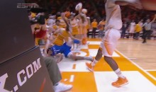 Kentucky's Devin Booker Takes Out Tennessee Cheerleader (Video)