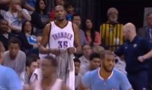 Kevin Durant to Chris Paul: 'You're Down By 20 Now, Homie' (Video)