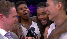 Kobe Bryant Goes On 'Kimmel', Gets Pissed at Playful Jeremy Lin Interview (Video)