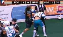Lacrosse Fight Features Many Uppercuts (Video)