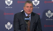 Leafs Coach Peter Horachek Not Impressed With Team's 'Give a Sh*t Meter' (Video)