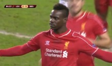 Mario Balotelli Fights With Teammate Over Penalty Kick, Wins Game For Liverpool (Video)