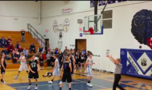 Middle School Basketball Team Loses as Ball Sticks on Rim at Buzzer (Video)