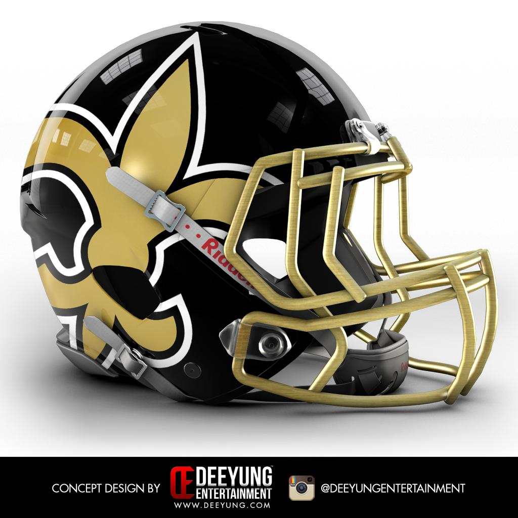 Design Company Recreates NFL Helmets For All 32 Teams