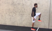 Odell Beckham Jr. Starts the Offseason with a LeBron Impression (Video)