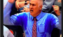 Oregon State Coach Wayne Tinkle Sweats More Than His Players Do (Pic)