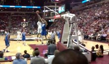 FSU's Phil Cofer Posterizes Duke's Jahlil Okafor (Video w/ Baseline Fan View)