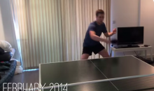 Practicing Every Day for a Year Will Make You a Table Tennis GOD (Video)
