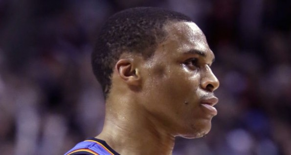 Russell Westbrook's head dent