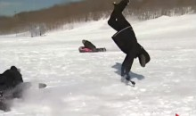 News Report Results In Hilariously Painful Sled Accident (Video)