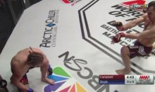 MMA Fighter Uses Street Fighter Hadouken Before Beating Opponent (Video)