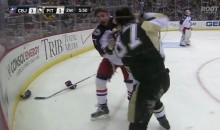 Angry Sidney Crosby Fights Brandon Dubinsky (Video)