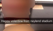 Couple Snapchats Valentines Sex Pics at Tennessee's Neyland Stadium