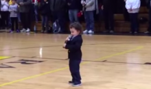 Son of Bengals Long Snapper Clark Harris Belts Out National Anthem (Video)