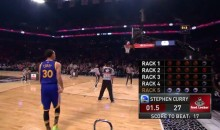 Watch Steph Curry's Record-Breaking Three-Point Contest Performance (Video)