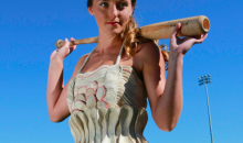 This Florida Woman Made a Baseball Dress from Donated Mets Balls (Pic)
