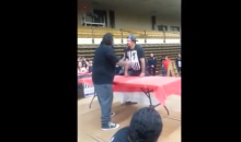 This Professional (?) Slap Fight Ends in the Most Awesome Way (Video)