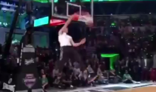 This Zach LaVine-Vince Carter Dunk Mashup Is Reminiscent of the 80′s (Video)