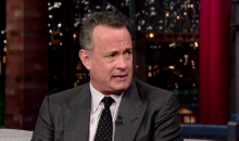 "Tom Hanks Plays ""Coaches as Stepdads"" on Letterman (Video)"