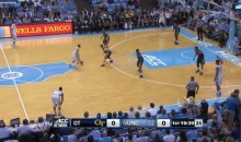 UNC Runs Four Corners Offense in Honor of Dean Smith (Video)