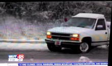 Upstanding Alabama Citizen Yells 'Roll Tide' While Doing Donuts in Snow (Video)