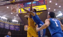 Willie Cauley-Stein Dunks All Over LSU's Jordan Mickey (Video)