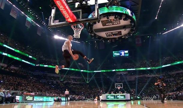 Zach LaVine dunk contest champ